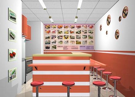 小食店装修设计