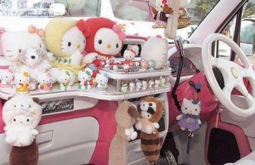 迪士尼汽车饰品加盟图片