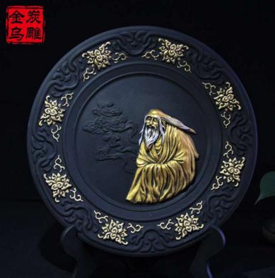 金乌炭雕工艺品加盟图片
