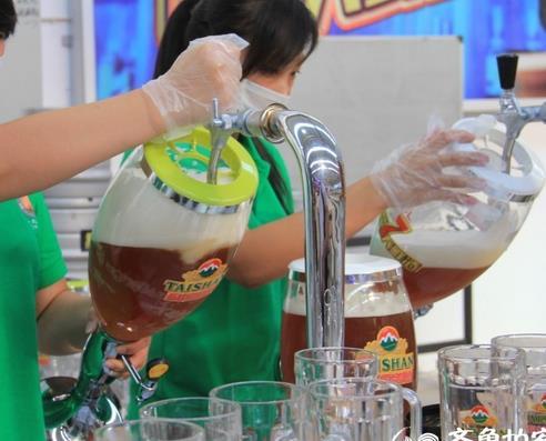 泰山啤酒加盟图片