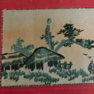 梁山手工织绣