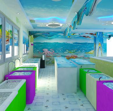 海景游泳馆加盟图片