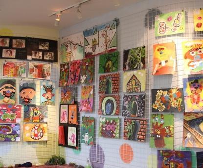 蕃茄田美术中心加盟图片