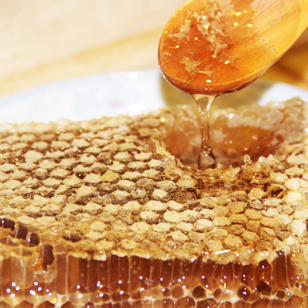 花间蜜语蜂蜜加盟图片