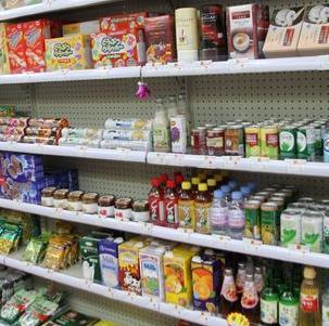 自由自在进口食品加盟图片