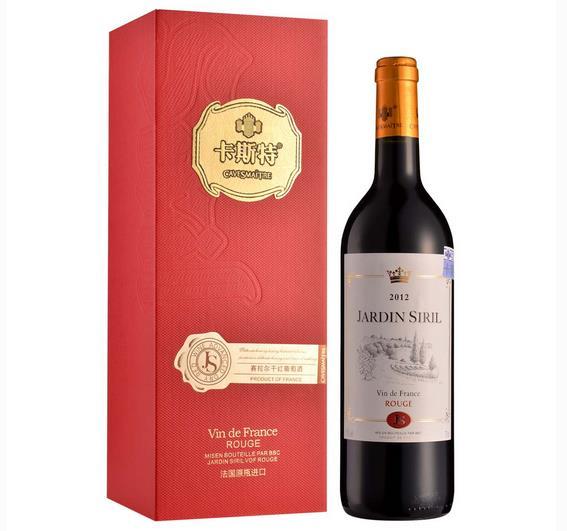 法国卡斯特红酒加盟图片