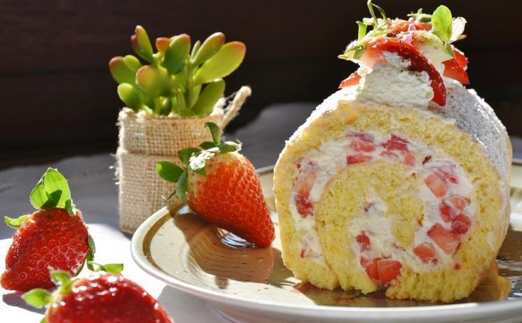创意龙蛋糕图片大全