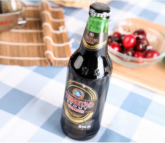 青岛黑啤酒加盟图片