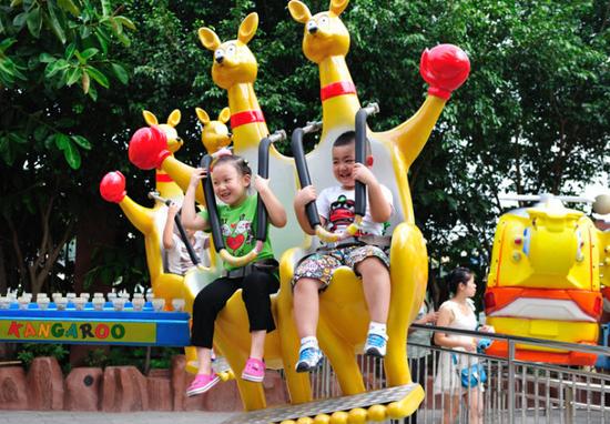 儿童游乐园加盟价格