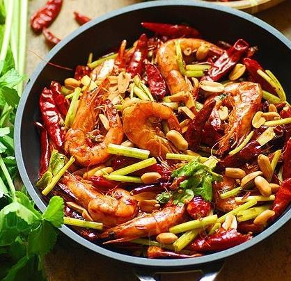 北京香辣干锅虾