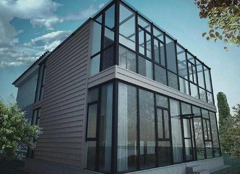 新豪轩铝合金门窗加盟图片