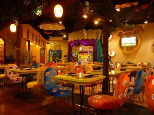 芭迪熊儿童主题餐厅加盟费