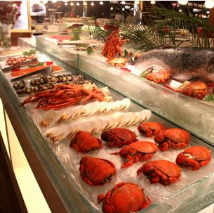 海鲜餐厅中餐加盟图片_加盟店装修图_就要加盟网