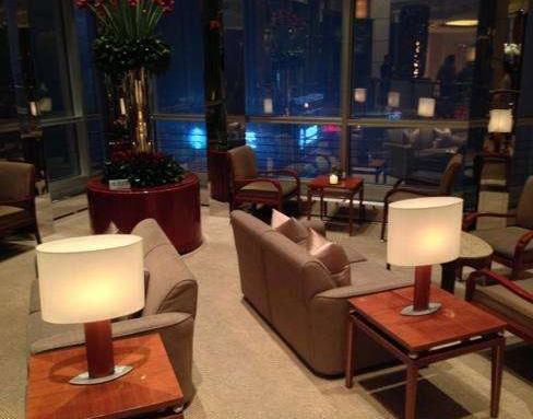 上海金茂君悦咖啡厅加盟图片