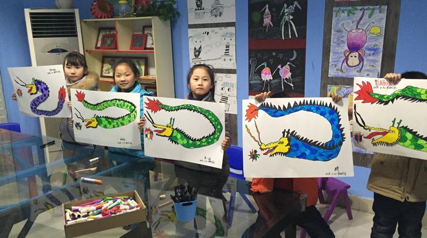格林童画少儿美术加盟
