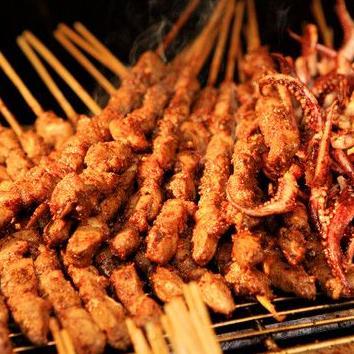 羊肉串烧烤加盟图片