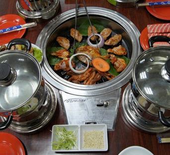 韩国烧烤加盟图片