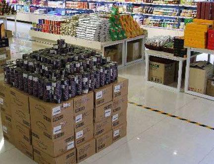 进口食品超市加盟图片