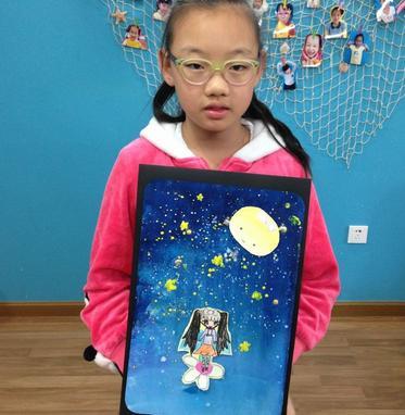 东方娃娃创意美术加盟图片