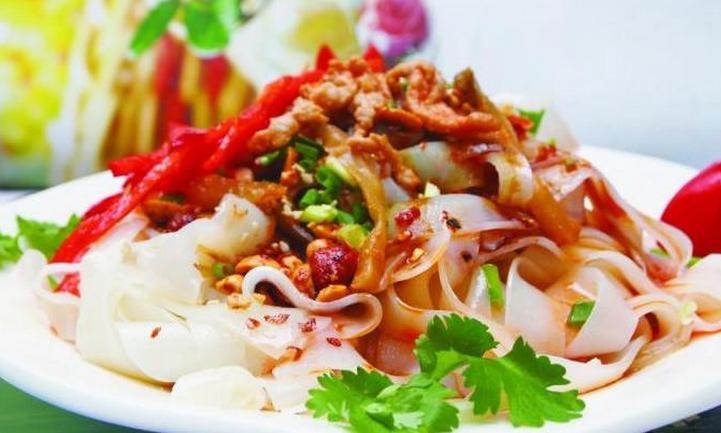陕西美食风景图片