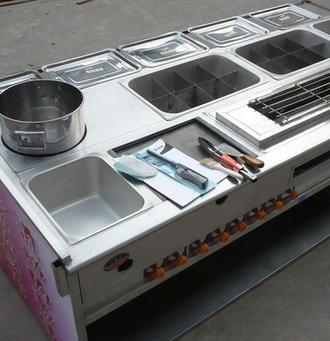 烧烤车加盟