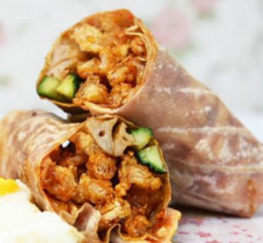 卤肉卷加盟图片