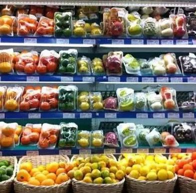 水果超市加盟图片