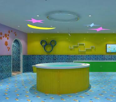 儿童游泳馆加盟图片
