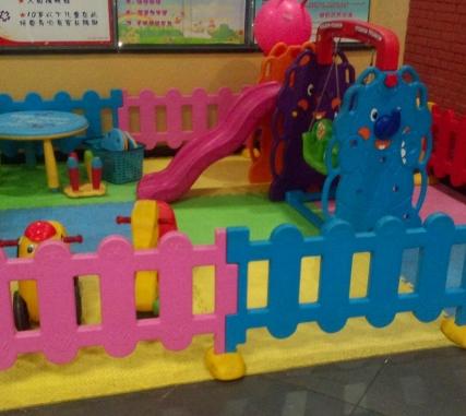 儿童游乐园加盟图片