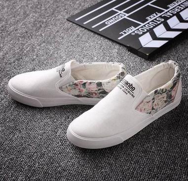 帆布鞋加盟图片
