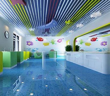 幼儿游泳馆加盟图片