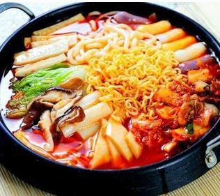年糕(gao)火鍋