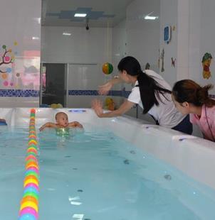 鑫博士婴儿游泳馆加盟图片