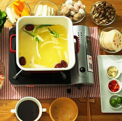 椰子鸡火锅