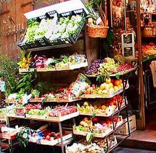 个个鲜水果超市加盟图片