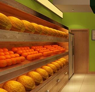 果真鲜水果超市加盟图片