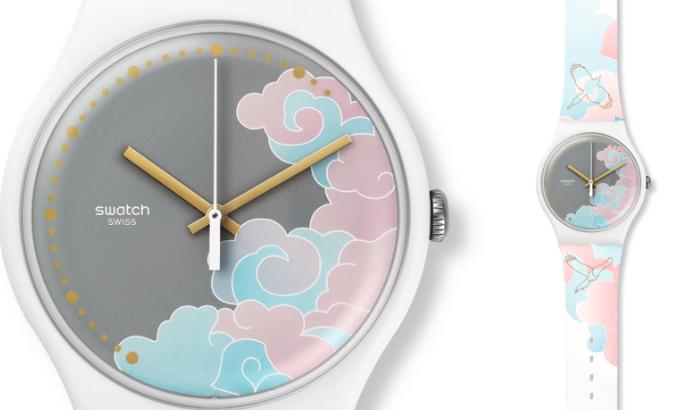 swatch手表加盟图片