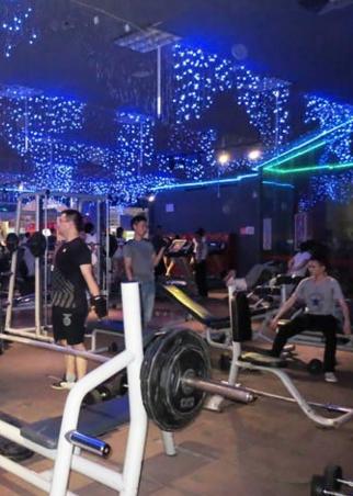 英皇健身加盟图片