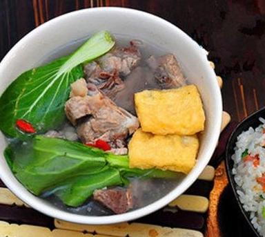 柳记菜饭骨头汤