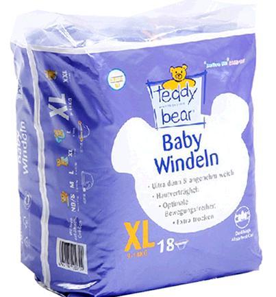 泰迪熊纸尿裤