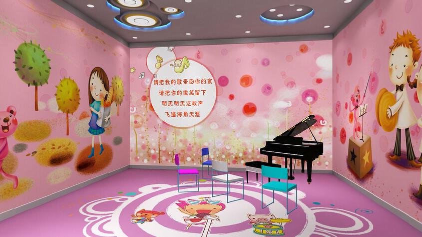 幼兒園加盟店室內墻面如何裝飾