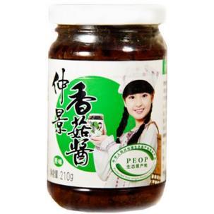 仲景香菇酱加盟图片