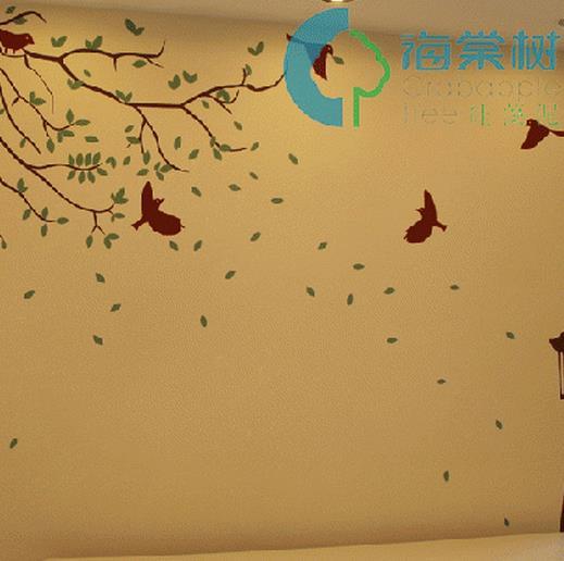 海棠树硅藻泥加盟图片