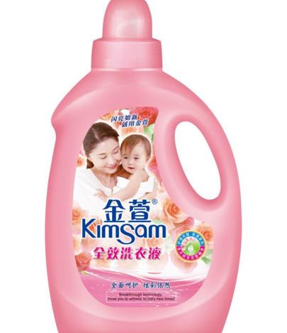 金萱洗衣液加盟图片