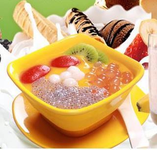 芒q奶茶加盟图片