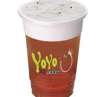 yoyo鲜果奶茶