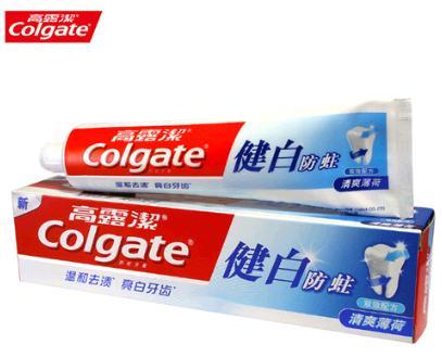 高露洁牙膏加盟图片
