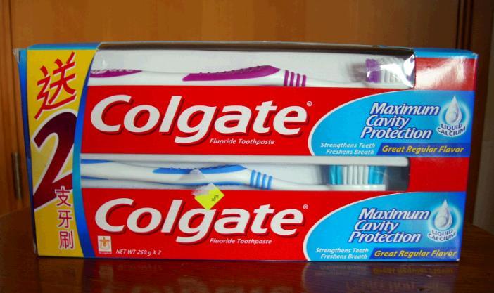 高露洁牙膏加盟
