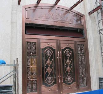 辉乐豪铜门