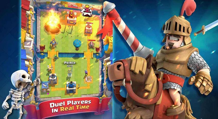 《部落冲突:皇室战争》(Clash Royale)是由芬兰游戏公司Supercell所推出的,以《部落冲突》的角色和世界观为原型,加入即时策略、MOBA以及卡牌等元素的手机游戏,于2016年1月4日在App Store发布。   在游戏中,玩家需通过不断的开启宝箱来获取卡片的方式来增强自己的战斗力,进而与其他在线的玩家进行匹配战斗。随着奖杯提升,开启不同场地的竞技场。   北京时间2016年6月24日,腾讯公司联合Supercell正式对外宣布:Supercell2016年新作《部落冲突:皇室战争》